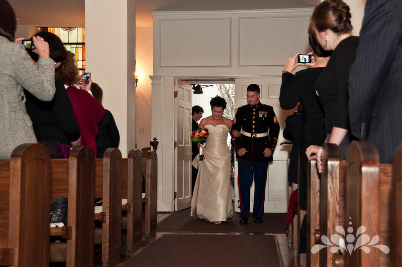 Walking down the aisle together…