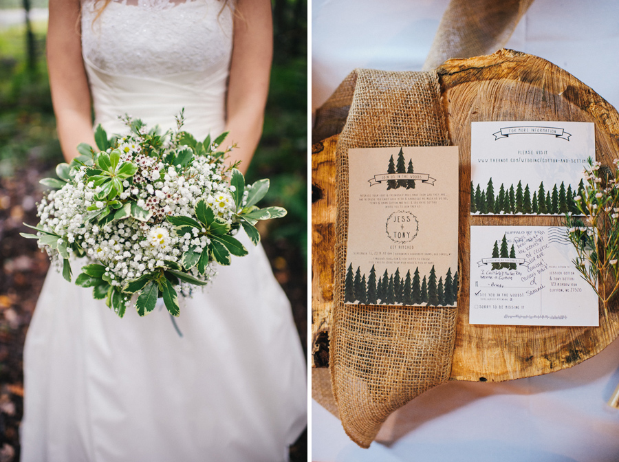 Adirondack Woodcraft Camp Wedding 01