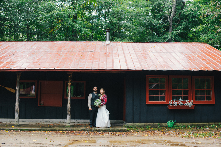 Adirondack Woodcraft Camp Wedding 25