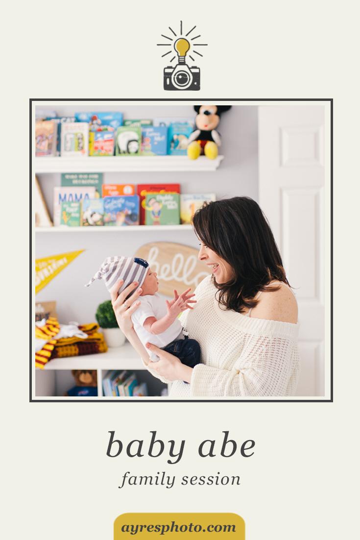 sabrina + aaron + baby abe