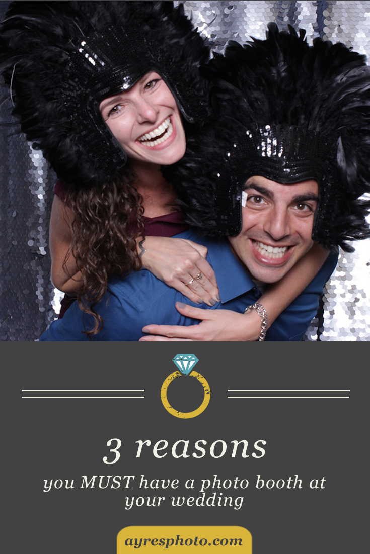 3 reasons why you must have a photo booth at your wedding