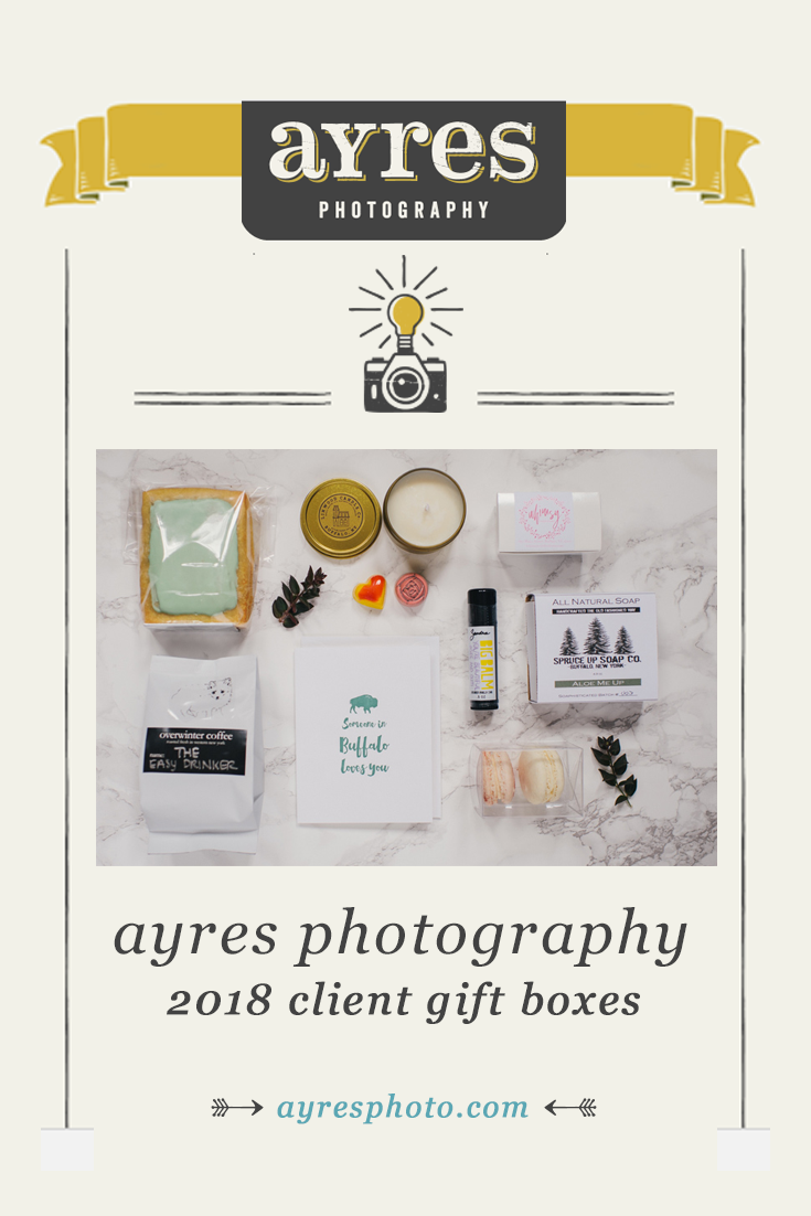 2018 Ayres Photography Client Gift Boxes