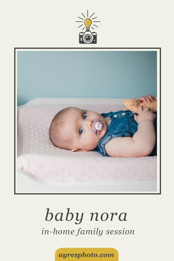 meghan + travis + baby nora