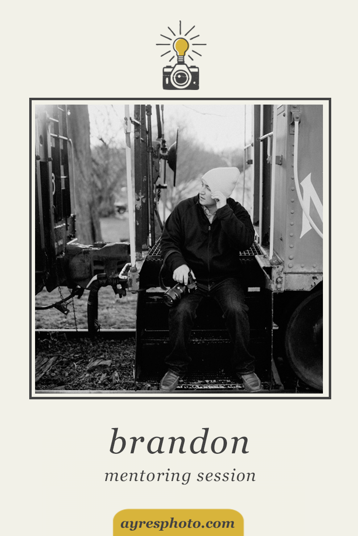 the mentoring sessions // 2016 – brandon