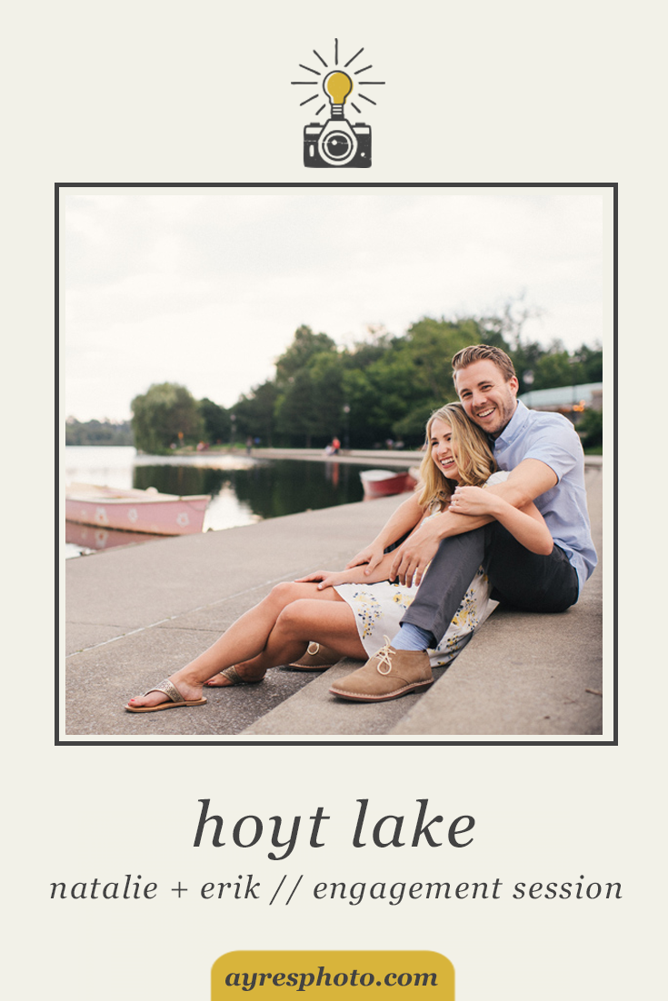 natalie + erik // Downtown Buffalo and Hoyt Lake