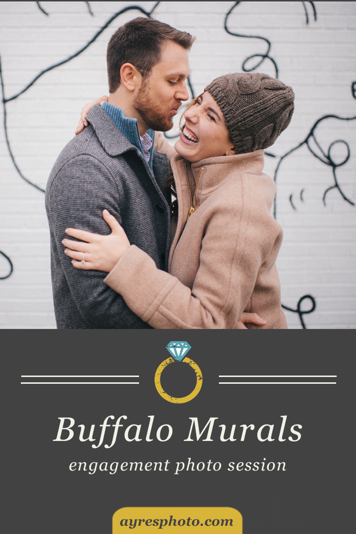 jess + matt // Buffalo Murals and Ellicott Street