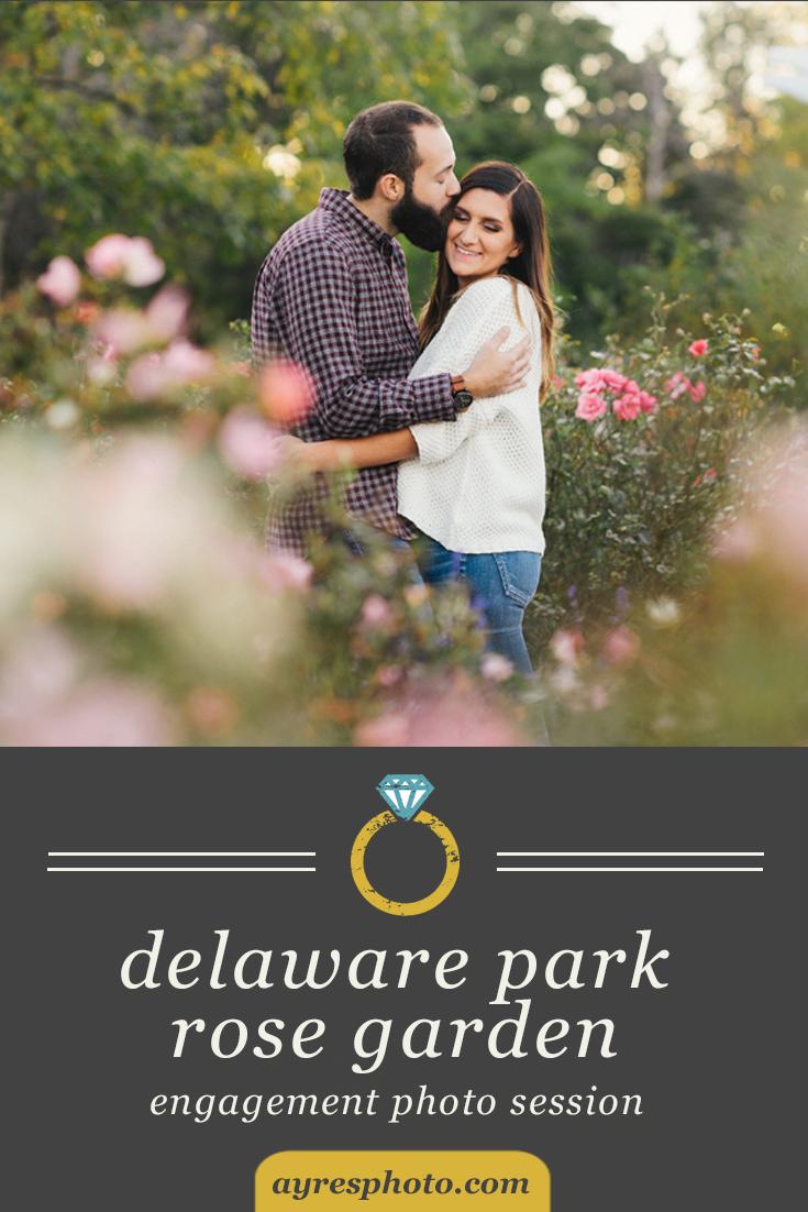 danielle + rick // Delaware Park Rose Garden