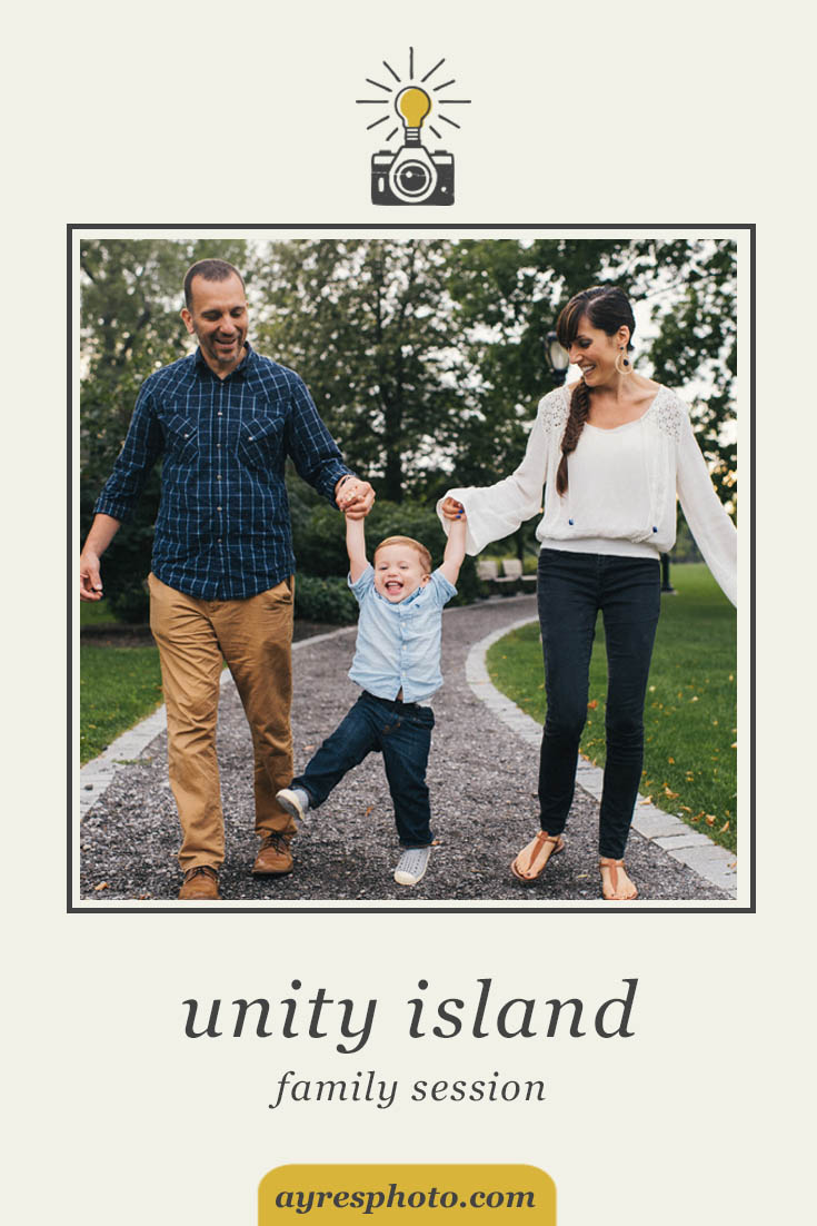 michele + daryl + desmond // unity island family session