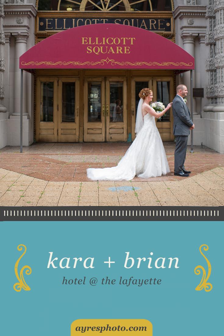 kara + brian // Hotel @ the Lafayette