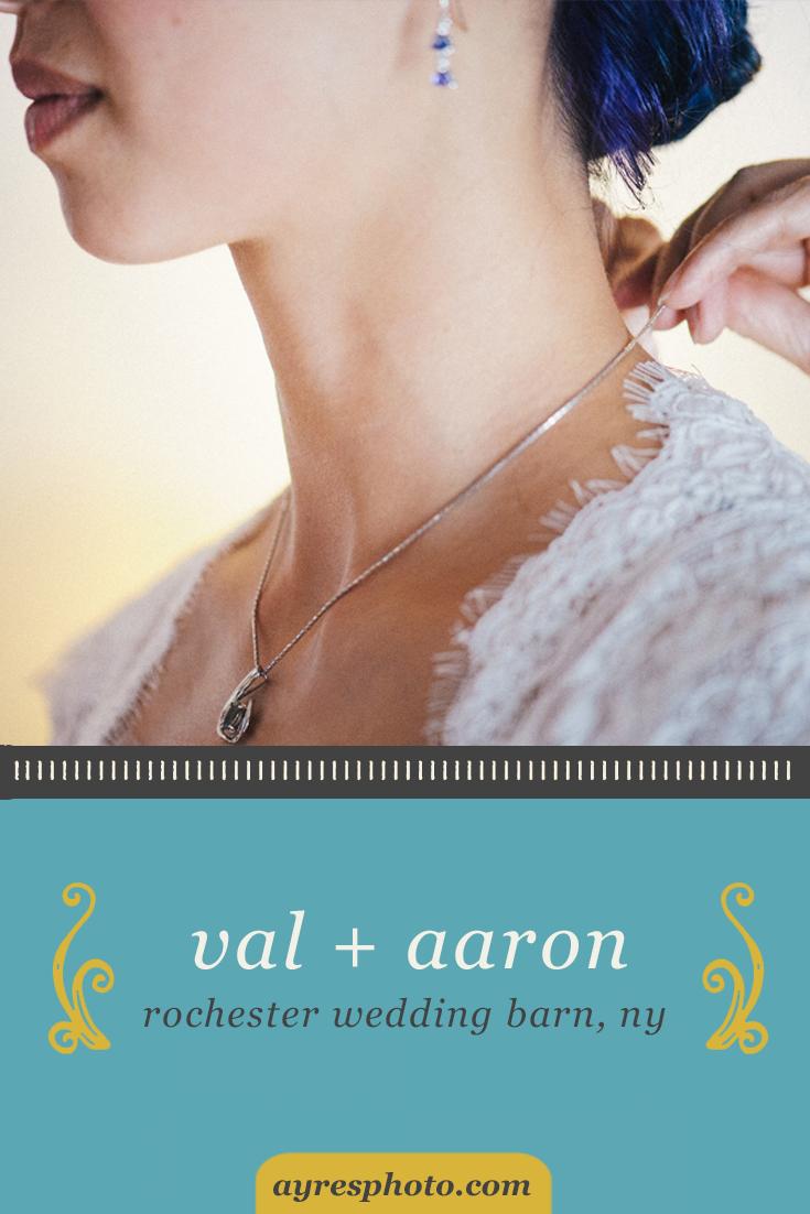 val + aaron // Rochester Wedding Barn