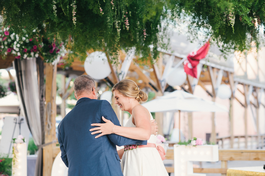 father daughter dance at larkinville reception