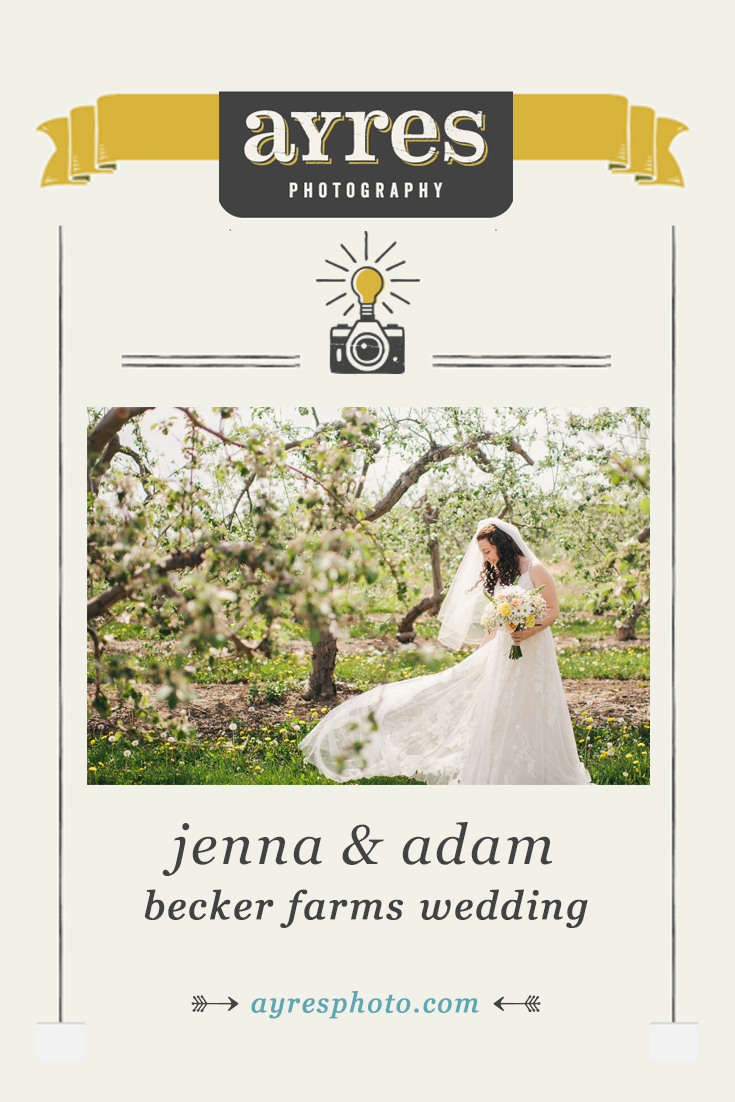 jenna + adam // Becker Farms Wedding