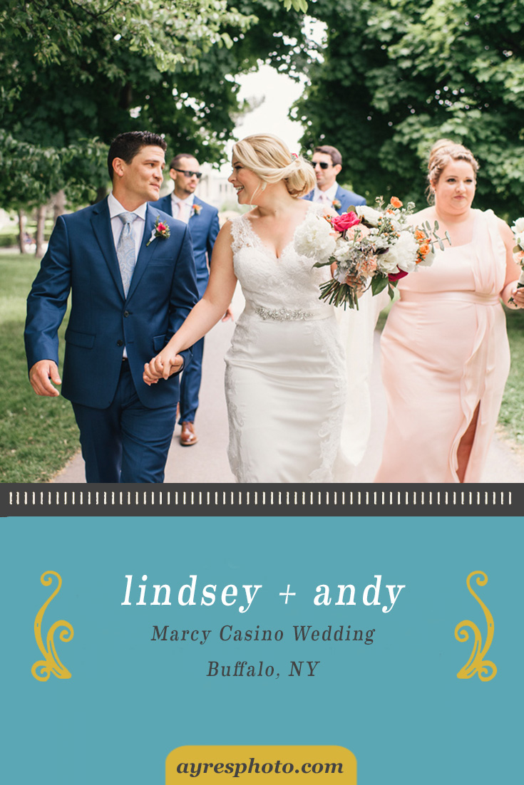 lindsey + andy // Marcy Casino Wedding
