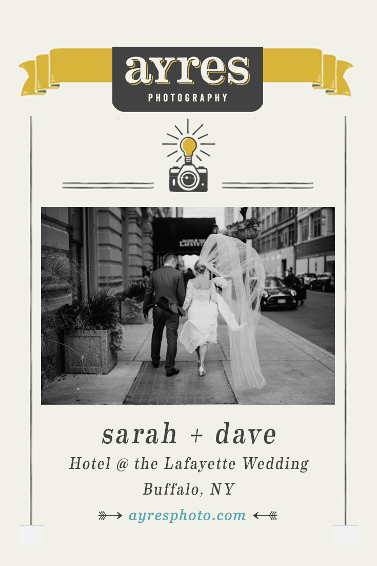 sarah + dave // Hotel @ the Lafayette Wedding
