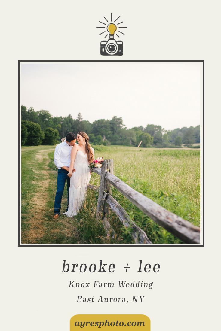 brooke + lee // Knox Farm Wedding Celebration