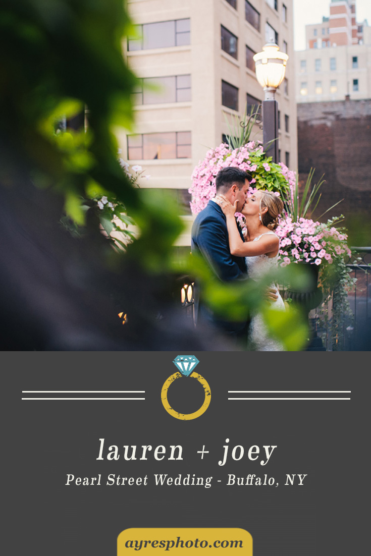 lauren + joey // Pearl Street Wedding