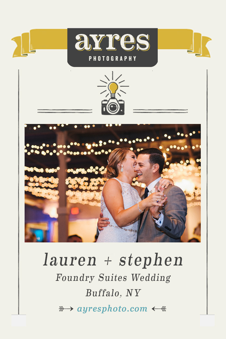 lauren + stephen // Foundry Suites Wedding