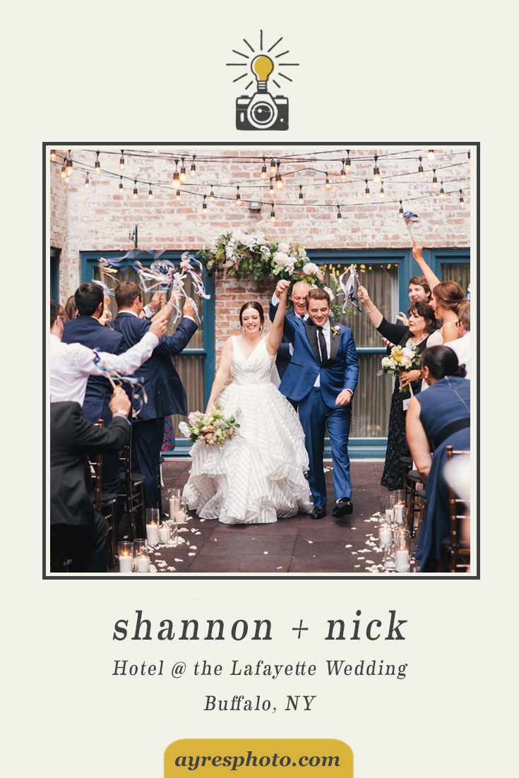 shannon + nick // Hotel @ the Lafayette Wedding