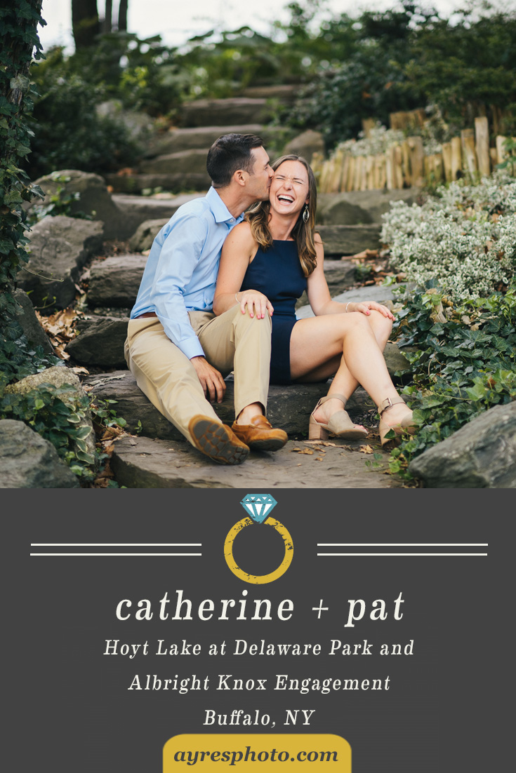catherine +pat // Hoyt Lake and Albright Knox Engagement