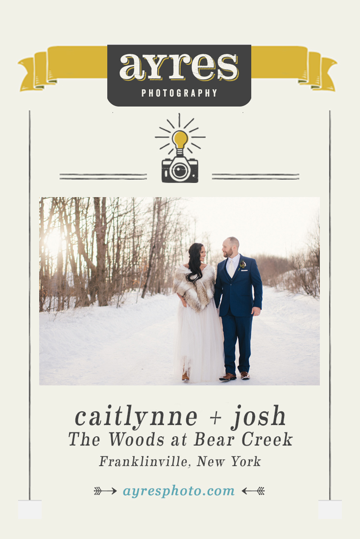 caitlynne + josh // The Woods at Bear Creek Wedding