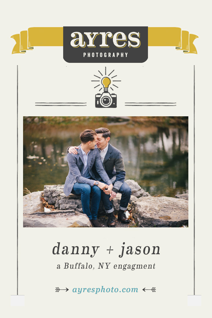 danny + jason // Buffalo Date Night Engagement