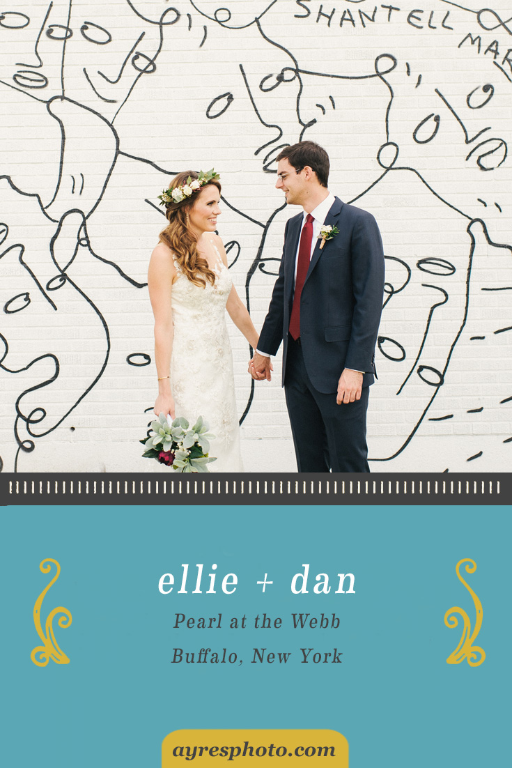 ellie + dan // Pearl at the Webb Wedding