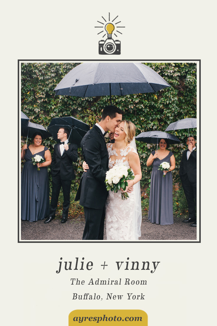 julie + vinny // The Admiral Room Wedding