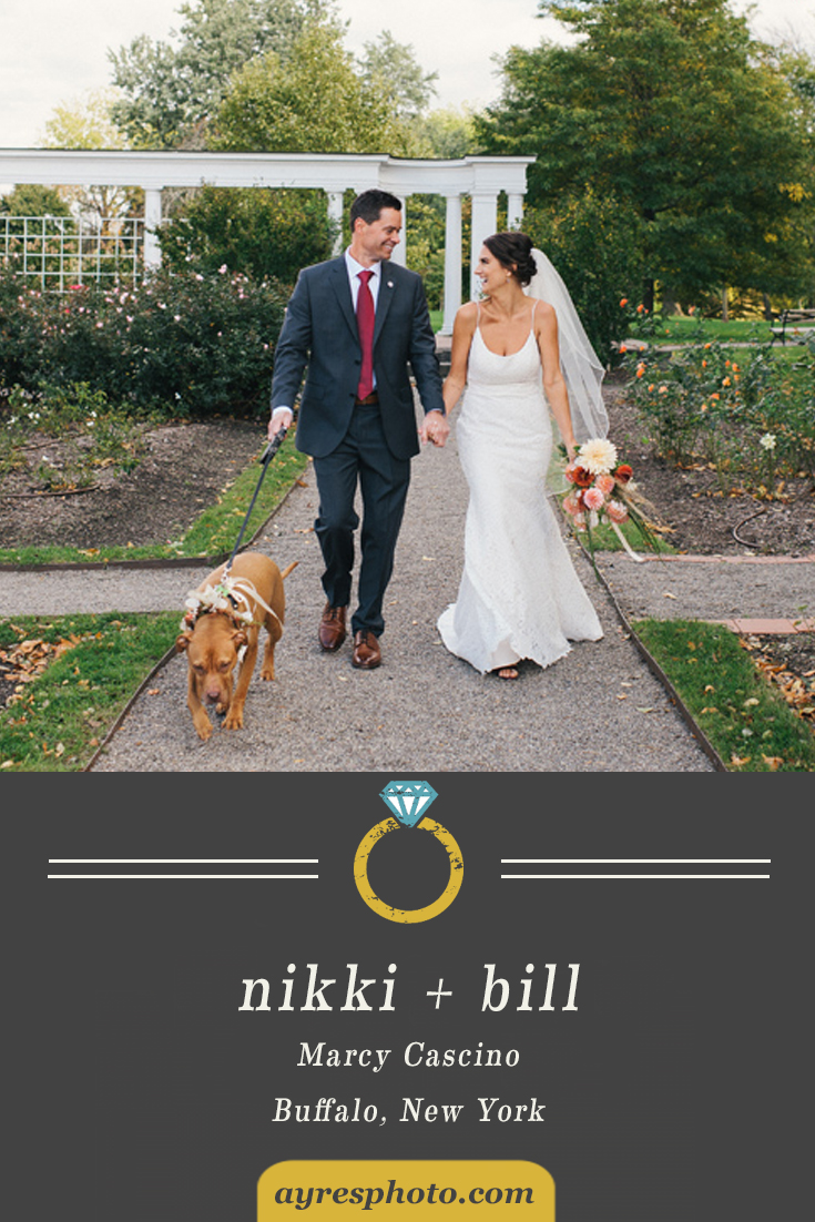 nikki + bill // Marcy Casino Wedding