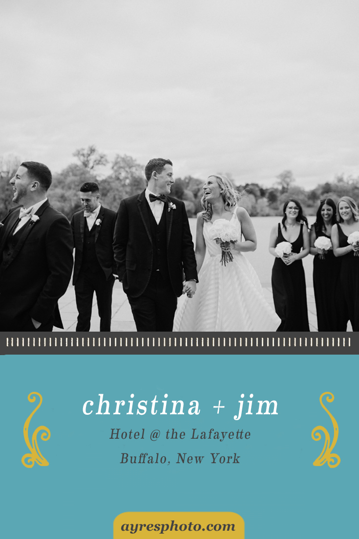 christina + jim // Hotel @ the Lafayette Wedding